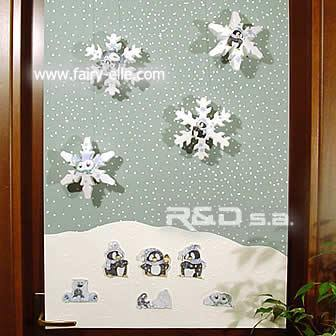 decorated door panel
