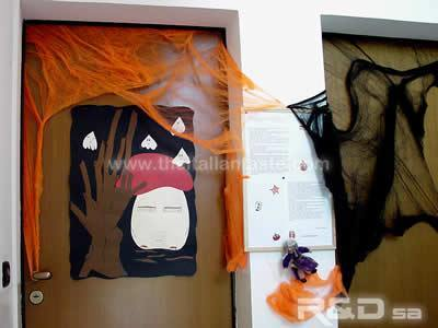 Handmade decoration for Halloween party at home and school
