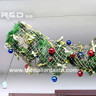 Christmas decoration for the balcony