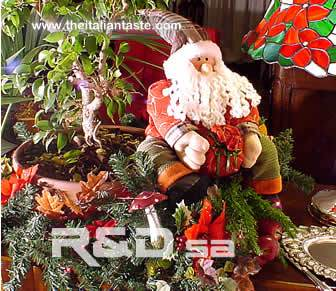 Example of Christmas decoration for children