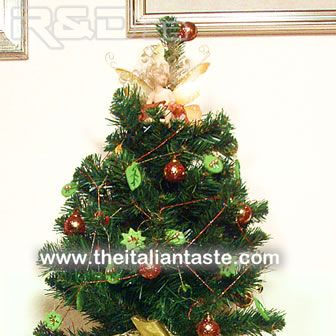 Fairy's Christmas tree. A perfect Christmas decoration for children, Italian style