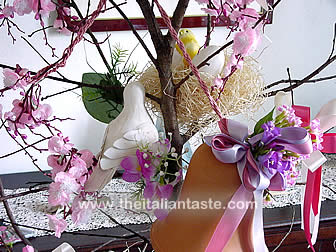 Easter decorations: Easter tree