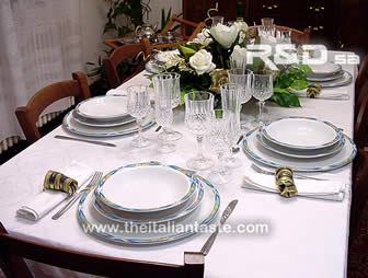 white christmas table , simple but nice and elegant