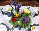 a centerpiece for easter