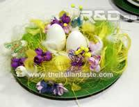 Centerpiece for Easter or spring table