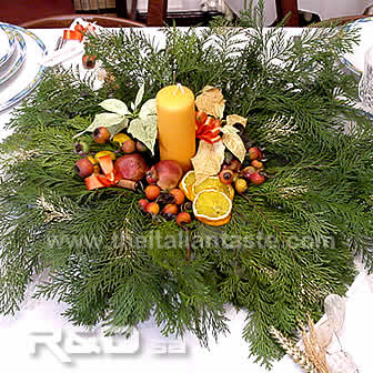 natural centrepiece