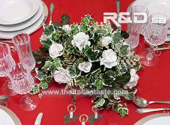 decoration for a christmas table