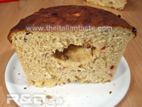 Wrong leavening for panettone cake due to wrong temperature or other factors