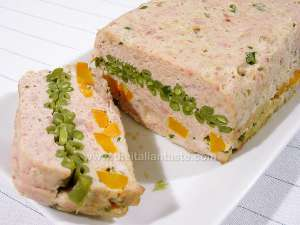 Rabbit and vegetable terrine