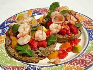 Apulian recipe with friselle, summer recipes
